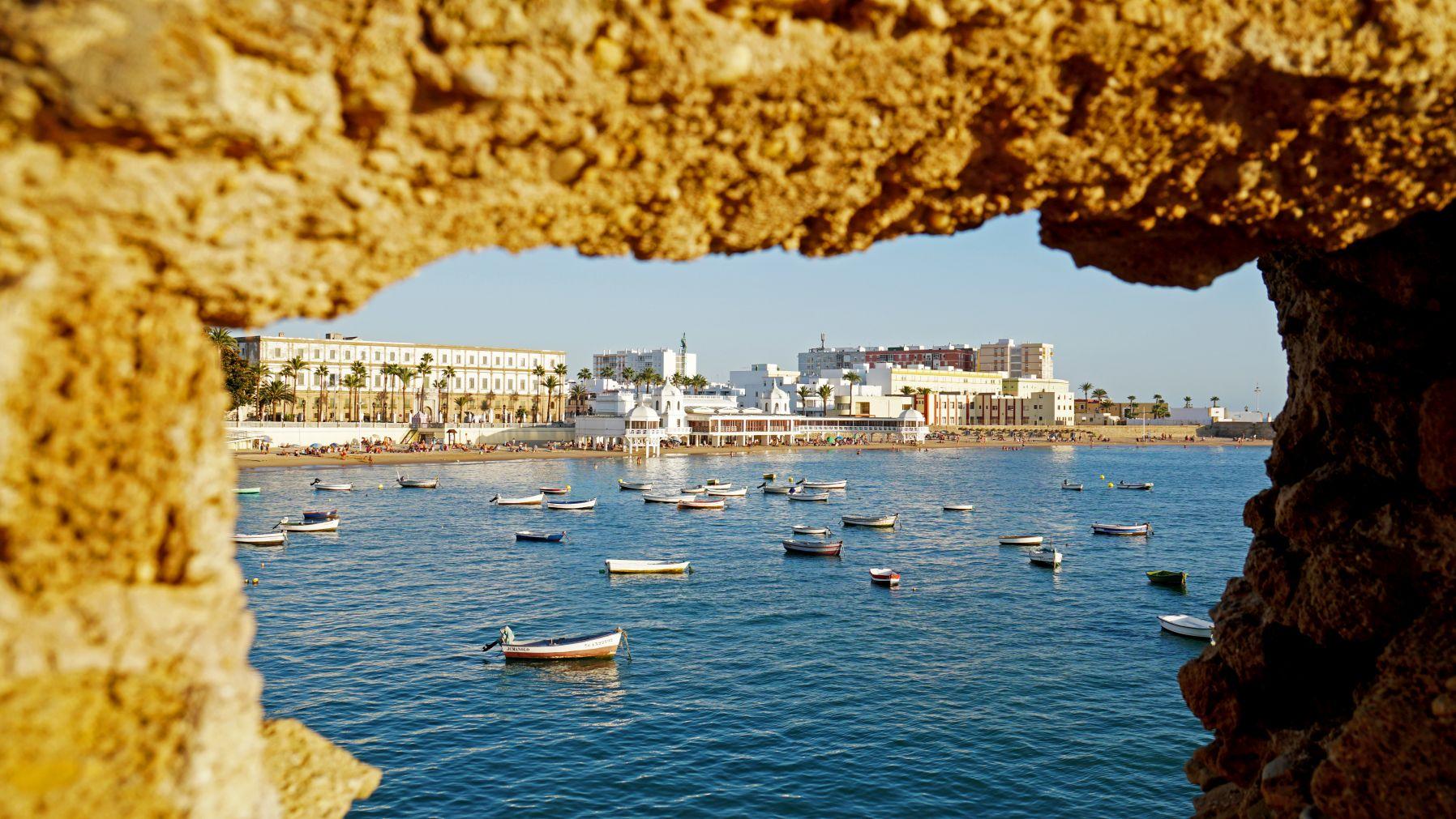 Strand von Cadiz