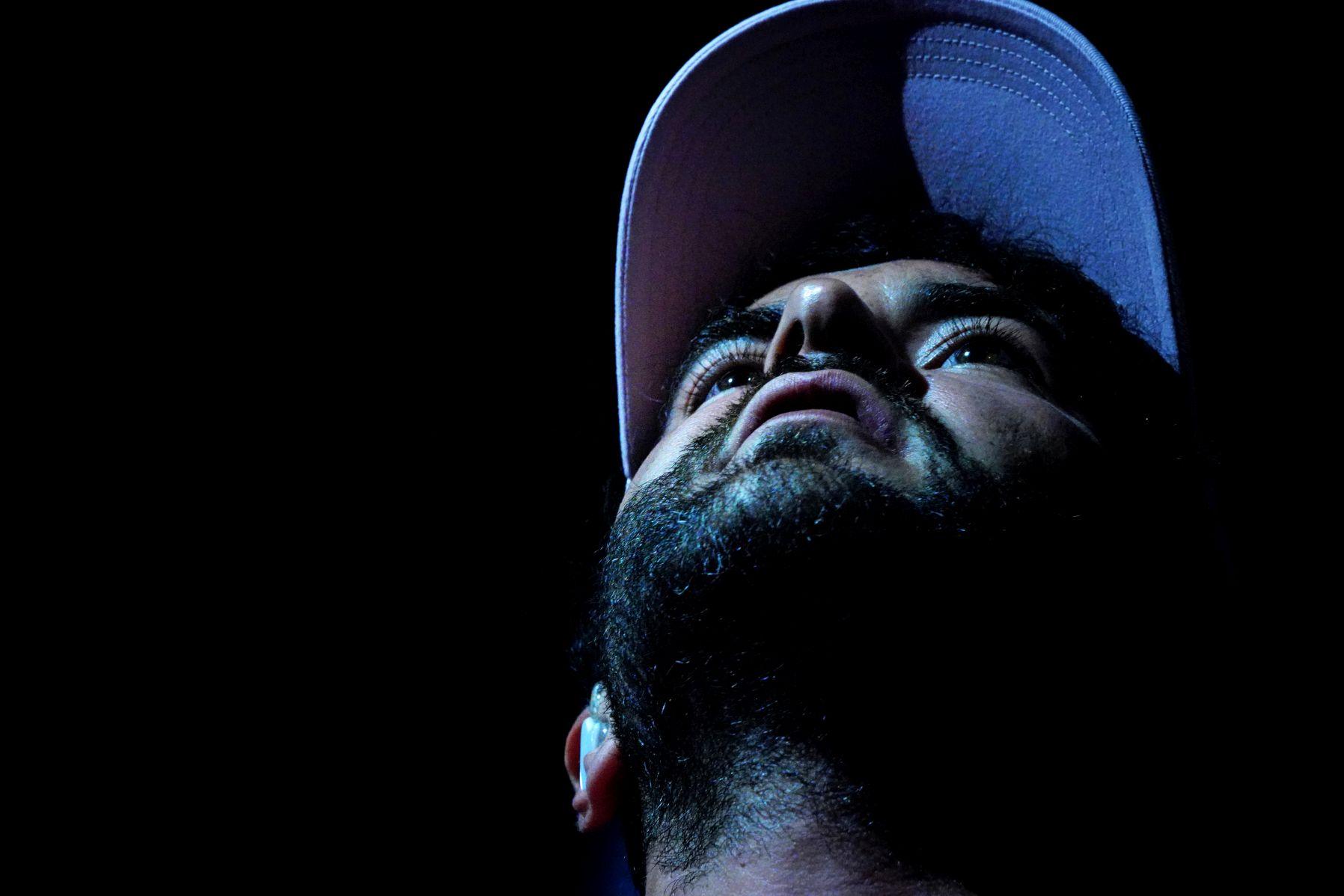 Rapper Chefket bei einem Konzert in München