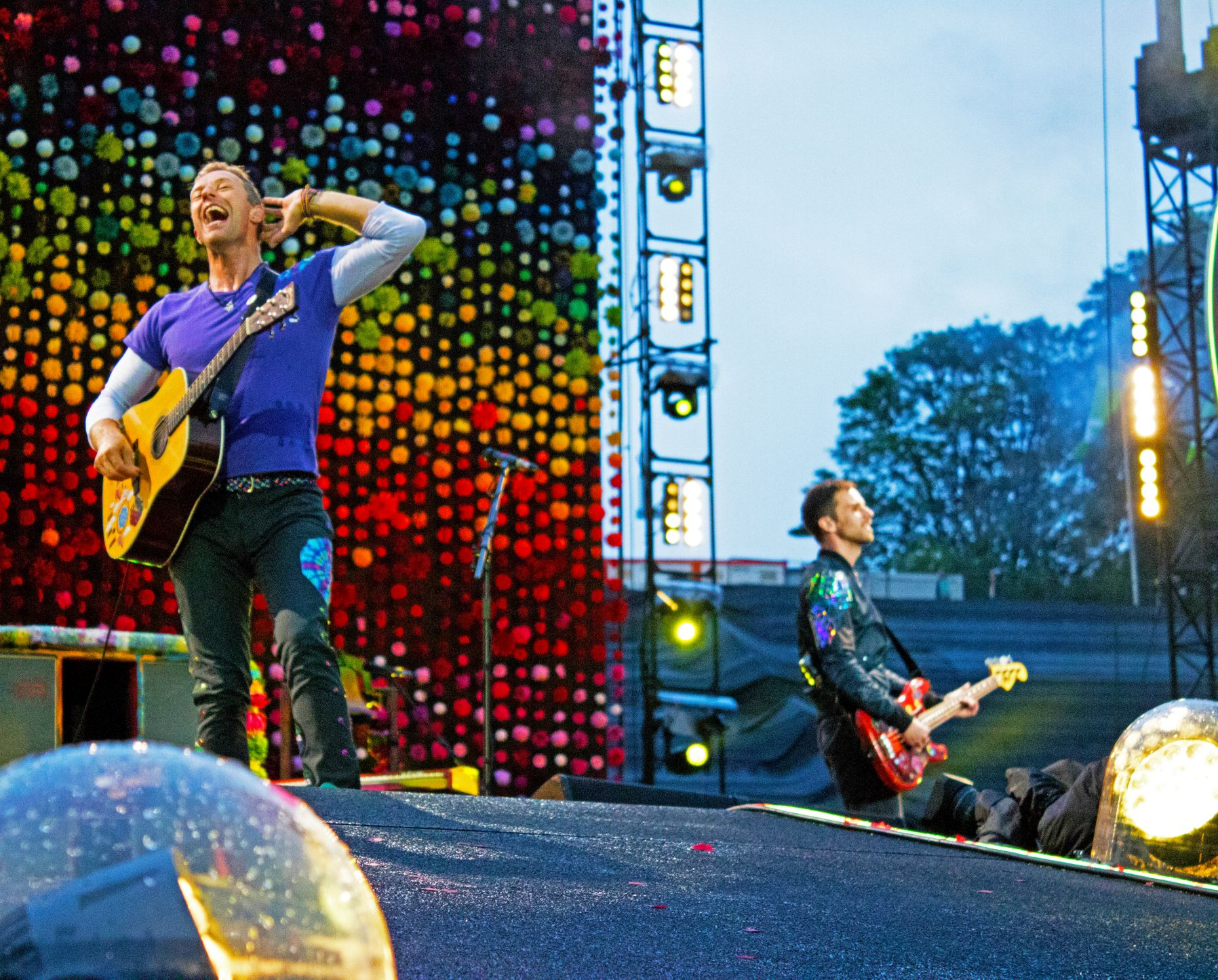 Coldplay Tour a head full of dreams im Olympiastadion München