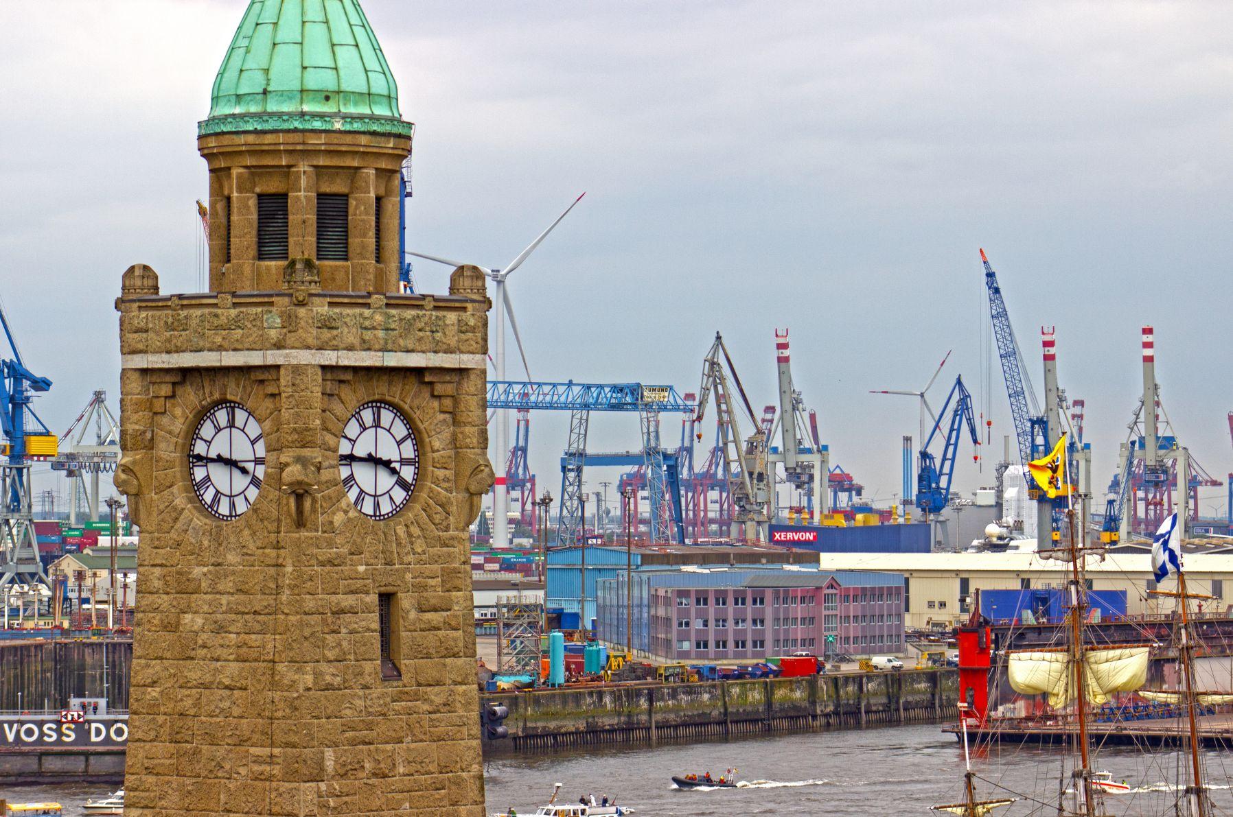 Hafen Geburtstag in Hamburg