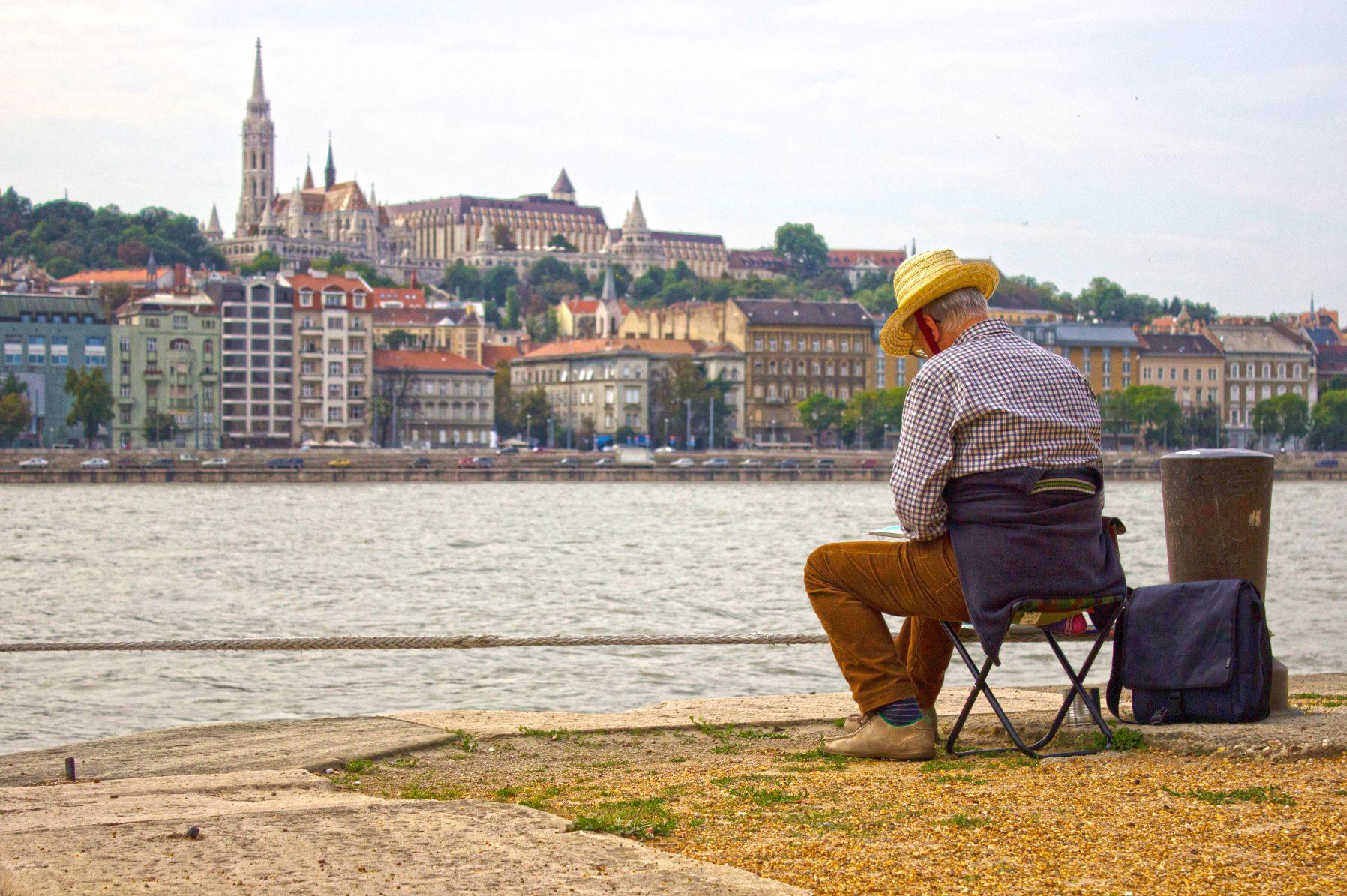 Einzelpotrait Budapest