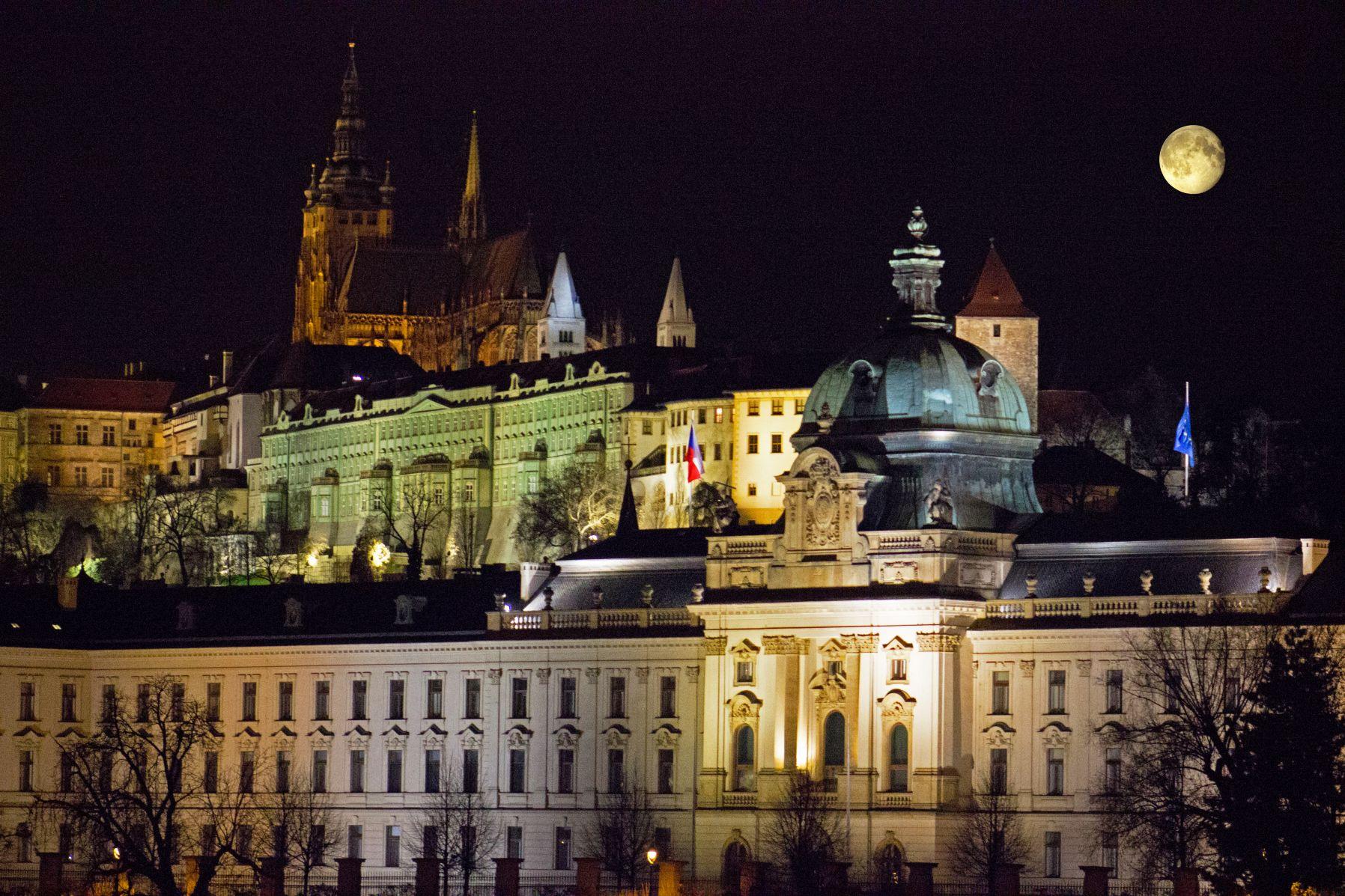 Prager Burg Nacht