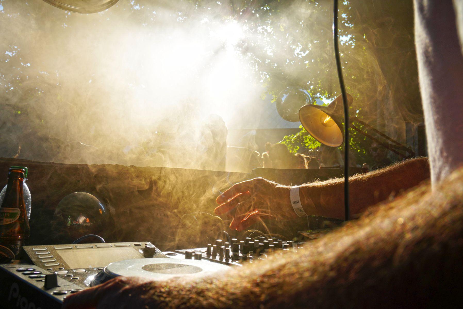 Waldbühne vom Wannda Circus Festival mit den besten Elektro DJs