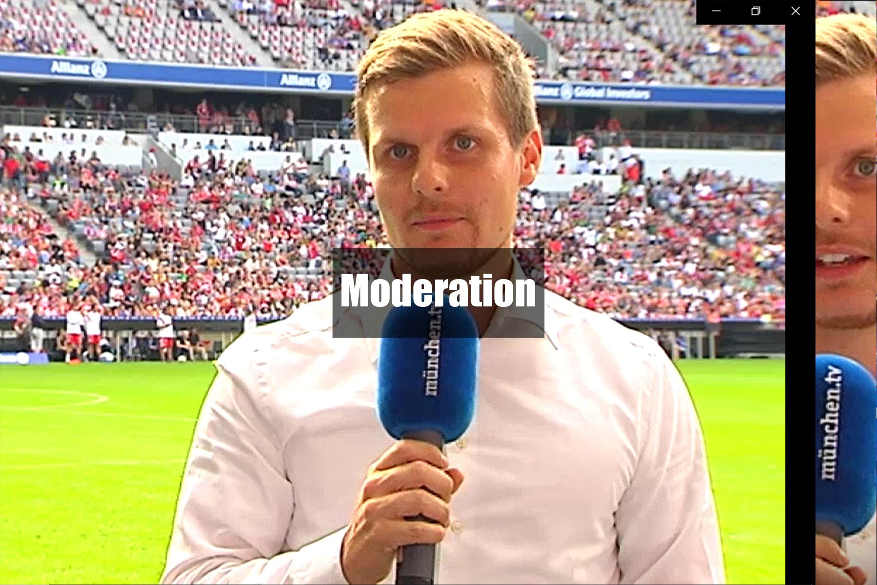 Moderation Sprecher Rico Güttich München